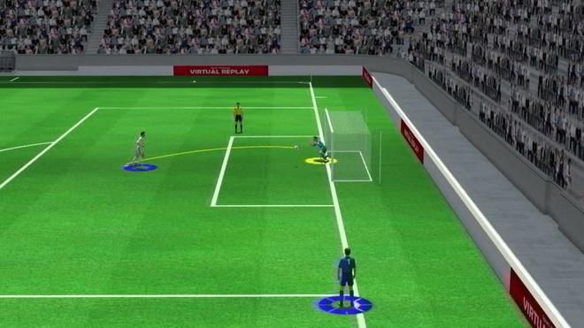 Highlight 3D: Loat da penalty dem ve chien thang cho tuyen Nga hinh anh
