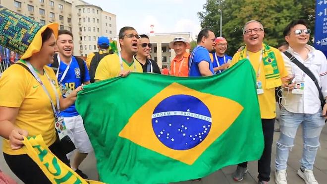 Dong dao CDV Brazil, Argentina den theo doi tran chung ket hinh anh