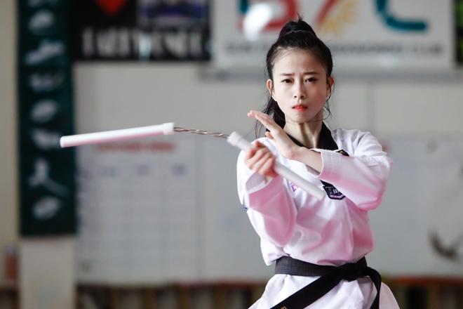 Chau Tuyet Van - co gai tai sac cua lang taekwondo Viet hinh anh