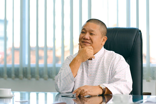 Chu tich Hoa Sen: Loi nhuan the, ly gi khong san xuat thep hinh anh