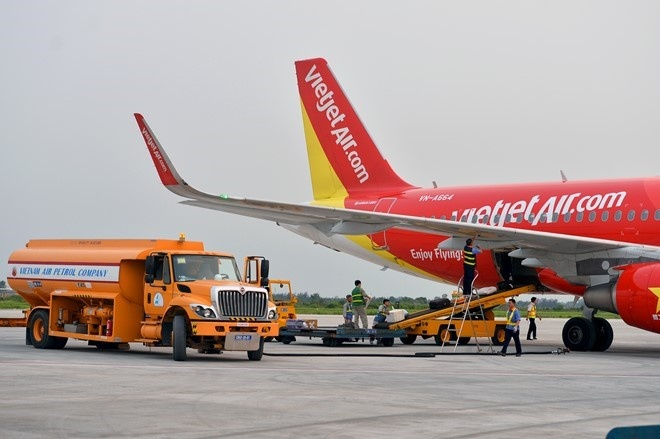 gia chao san Vietjet Air anh 1