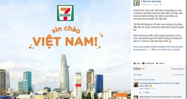 7-Eleven se do bo Viet Nam voi 5 cua hang dau tien hinh anh 1
