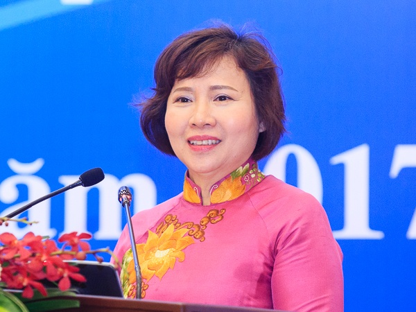Thu truong Ho Thi Kim Thoa da xin nghi viec hinh anh