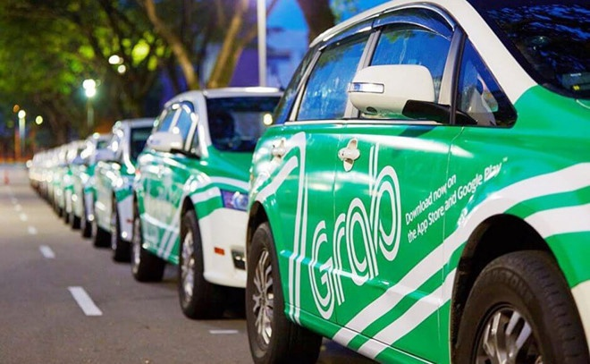 Uber, Grab: Van hanh dau, lo do hinh anh