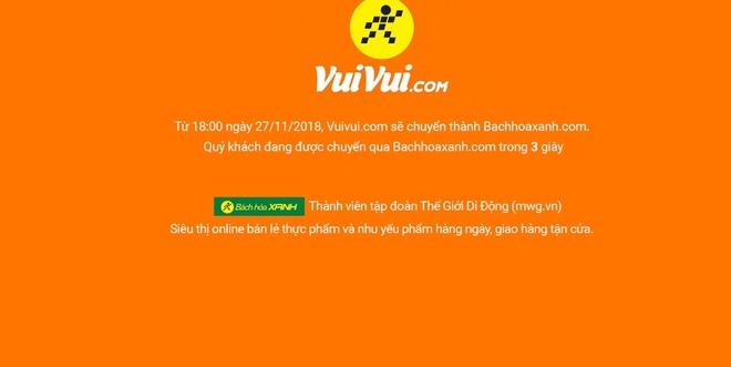 The Gioi Di Dong dong cua trang thuong mai dien tu Vuivui.com hinh anh