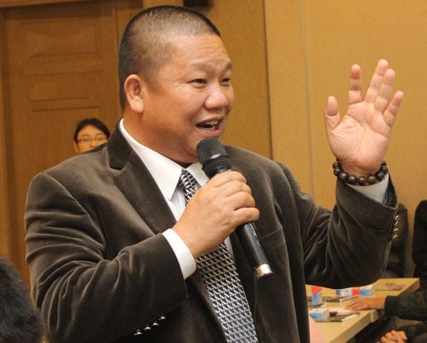 Ông Lê Phước Vũ cho rằng HSG đang trong giai đoạn phòng thủ. Ảnh: HSG.
