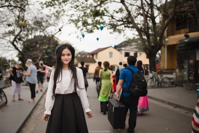 Thieu nu Viet duoc dan mang Han Quoc khen xinh dep la ai? hinh anh 5