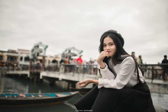 Thieu nu Viet duoc dan mang Han Quoc khen xinh dep la ai? hinh anh 6