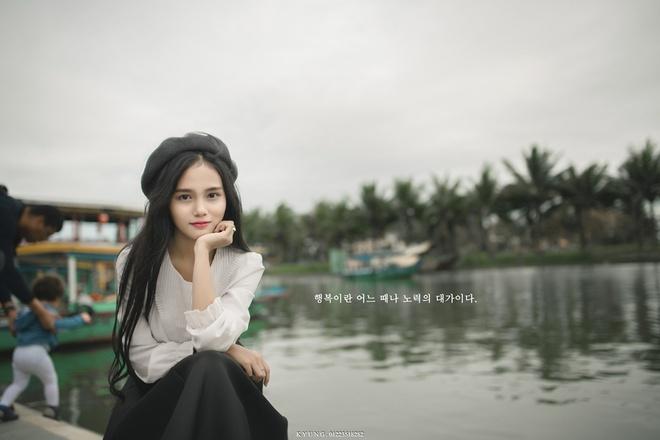 Thieu nu Viet duoc dan mang Han Quoc khen xinh dep la ai? hinh anh 1