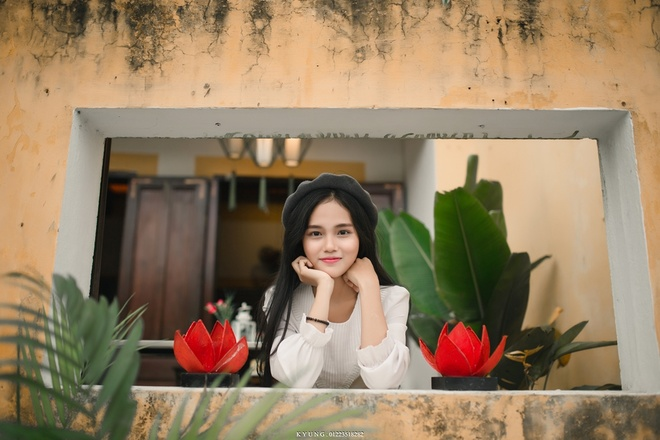 Thieu nu Viet duoc dan mang Han Quoc khen xinh dep la ai? hinh anh 2