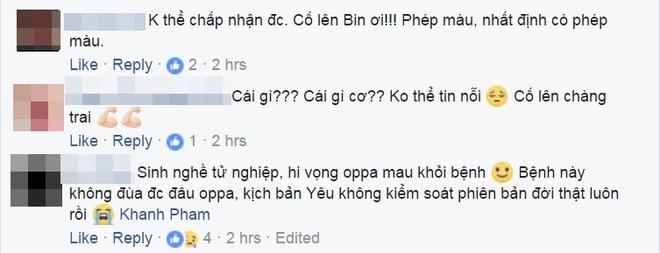 Dan mang bang hoang truoc tin Kim Woo Bin bi ung thu vom hong hinh anh 5