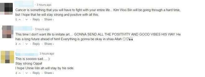 Dan mang bang hoang truoc tin Kim Woo Bin bi ung thu vom hong hinh anh 7