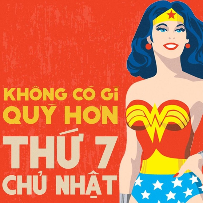 Loat anh che Wonder Woman thich uong tra sua, hay 'tha thinh' hinh anh 1