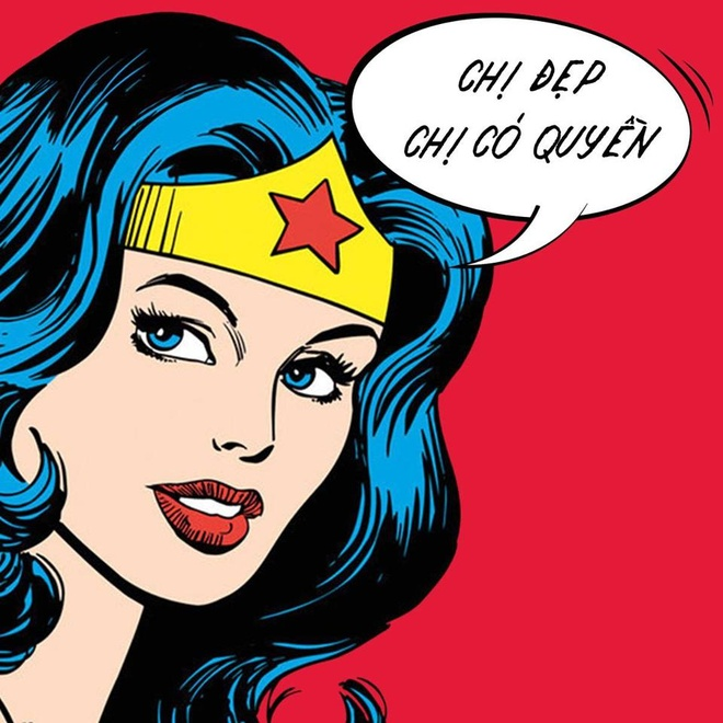 Loat anh che Wonder Woman thich uong tra sua, hay 'tha thinh' hinh anh 5