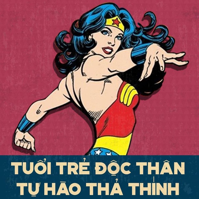 Loat anh che Wonder Woman thich uong tra sua, hay 'tha thinh' hinh anh 3