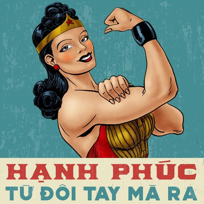 Loat anh che Wonder Woman thich uong tra sua, hay 'tha thinh' hinh anh 4