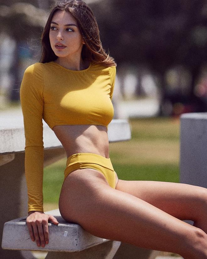 'Hot girl xinh nhat mang xa hoi' Celine Farach quay tro lai Viet Nam hinh anh 4