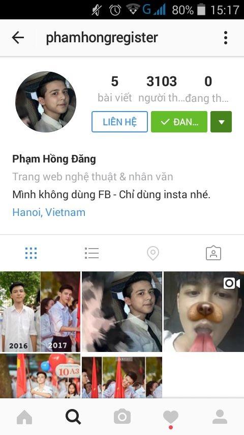 'Hot boy cam co' buc xuc khi lien tiep bi gia mao Facebook hinh anh 4