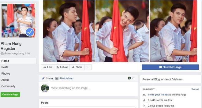 'Hot boy cam co' buc xuc khi lien tiep bi gia mao Facebook hinh anh 2