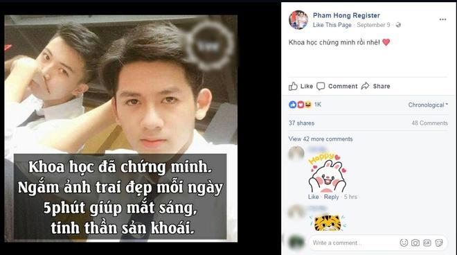 'Hot boy cam co' buc xuc khi lien tiep bi gia mao Facebook hinh anh 3