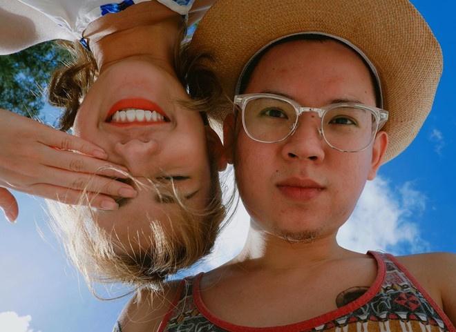 Chuyen tinh cam hot girl 2017: Ke chia tay, nguoi vua moi cong khai hinh anh 5