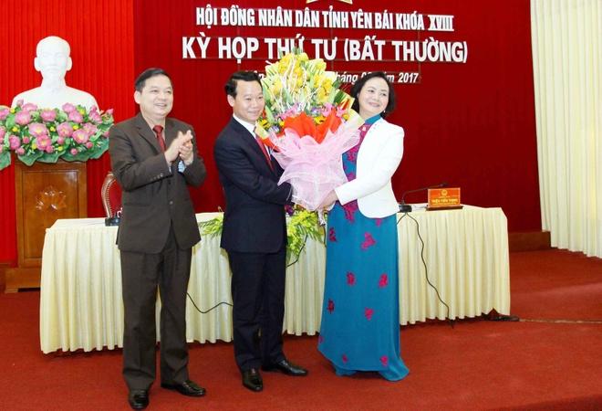 Thu truong Bo Xay dung lam Chu tich tinh Yen Bai hinh anh 1