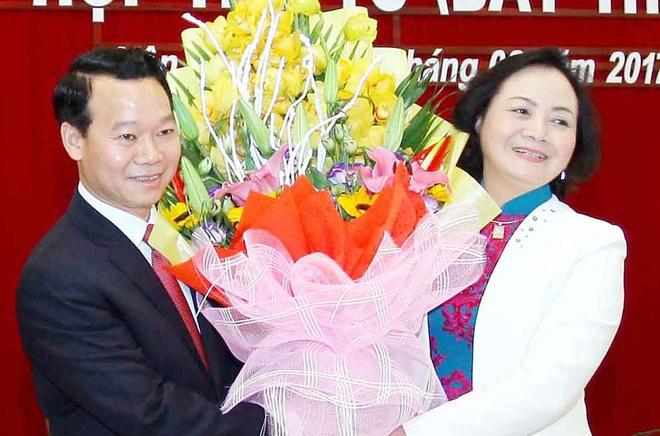 Thu truong Bo Xay dung lam Chu tich tinh Yen Bai hinh anh