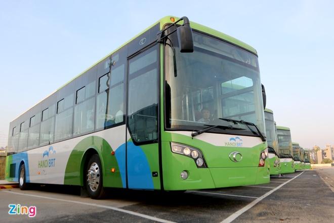 Bao cao Chu tich Ha Noi ve nghi van buyt nhanh BRT 'doi gia' hinh anh 1