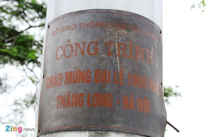 Cot dong ho ky niem 1.000 nam Thang Long ngung hoat dong hinh anh 1