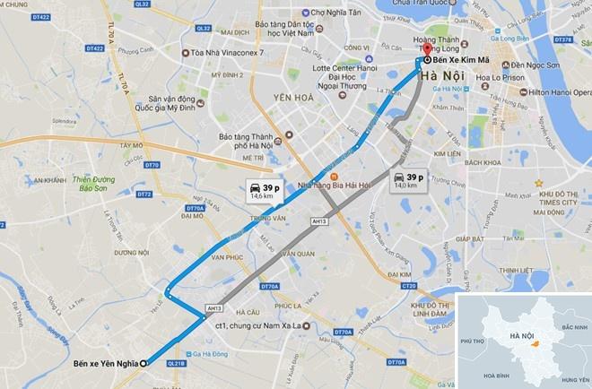 Ha Noi thi diem phuong an cho buyt thuong chay vao duong BRT hinh anh 2