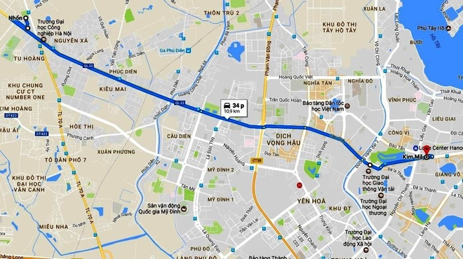 Nhieu goi thau tuyen metro Nhon - ga Ha Noi moi hoan thanh 10% hinh anh 3