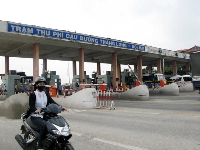 Bac de xuat tang phi qua tram BOT Bac Thang Long - Noi Bai hinh anh