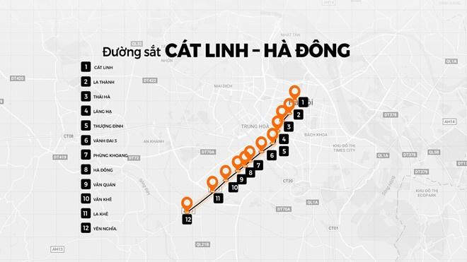 Bo Giao thong thuc tien do duong sat Cat Linh - Ha Dong hinh anh 2