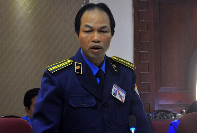 Chanh Thanh tra giao thong Ha Noi noi ve viec bi kien hinh anh 2