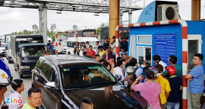 Bo Giao thong thong nhat giam phi qua tram BOT Soc Trang hinh anh 1