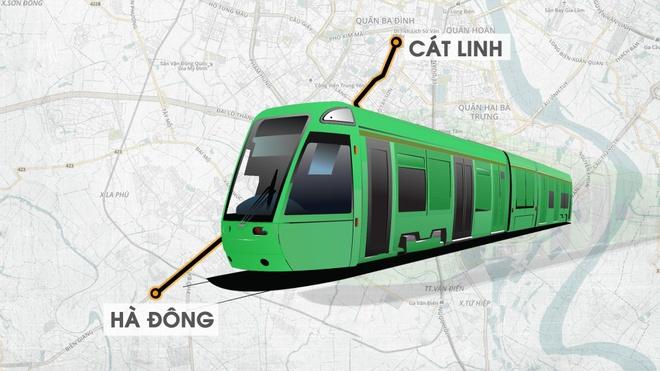 Duong sat Cat Linh - Ha Dong ket noi voi phuong tien cong cong nao? hinh anh