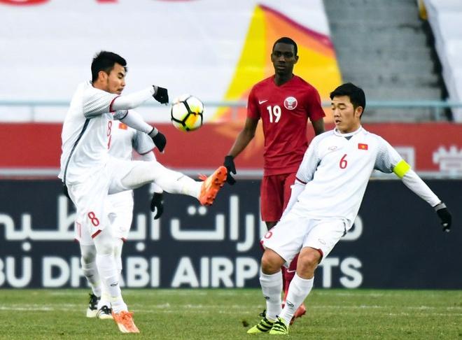 Khong cam son hinh doi tuyen U23 len may bay hinh anh 1