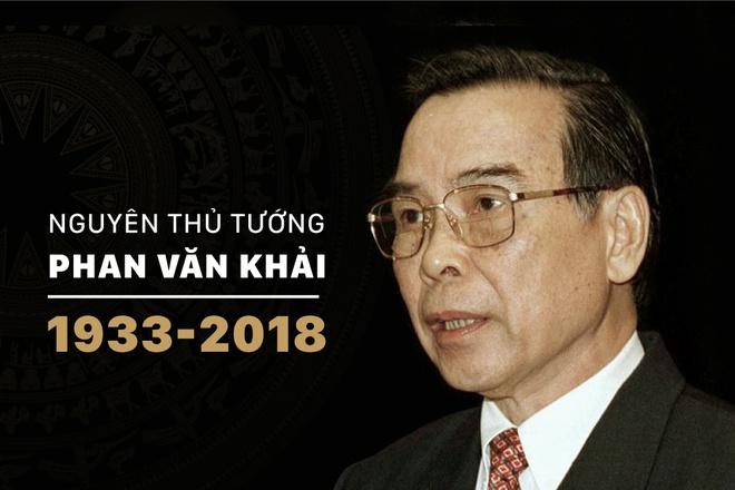 Nguyen Thu tuong Phan Van Khai tu tran o tuoi 85 hinh anh 1