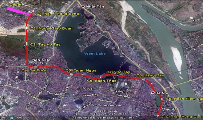 Sap dau thau du an metro Nam Thang Long - Tran Hung Dao hinh anh 2