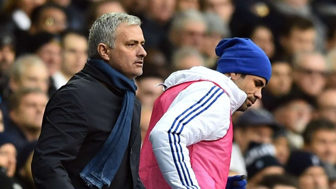 Chinh Mourinho lam hai Diego Costa hinh anh
