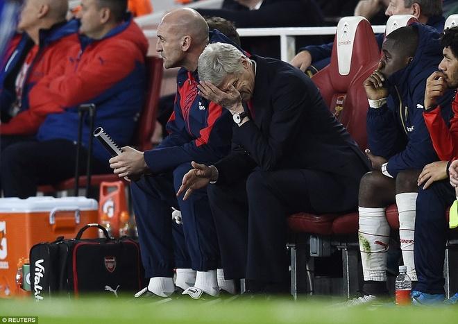 Arsenal da het ao tuong? hinh anh