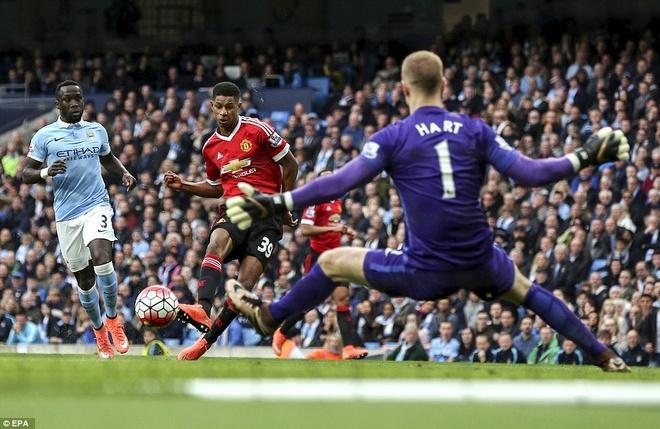 Den MU, Mourinho van co cho cho Marcus Rashford hinh anh 1