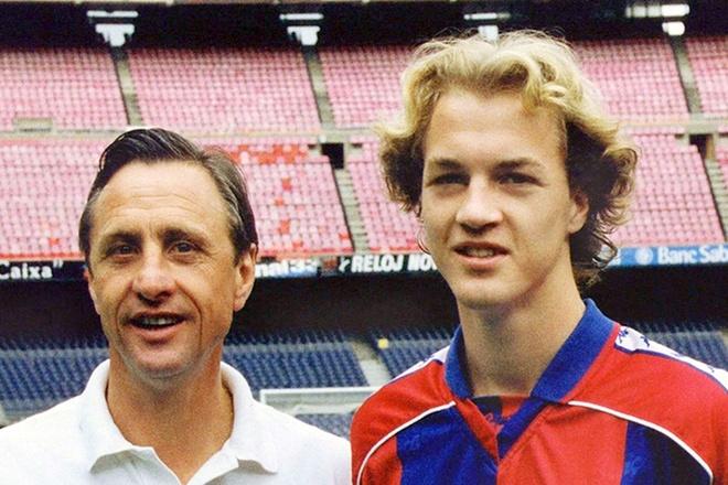 Con trai Cruyff va ban hop dong bi an cua Sir Alex hinh anh 1