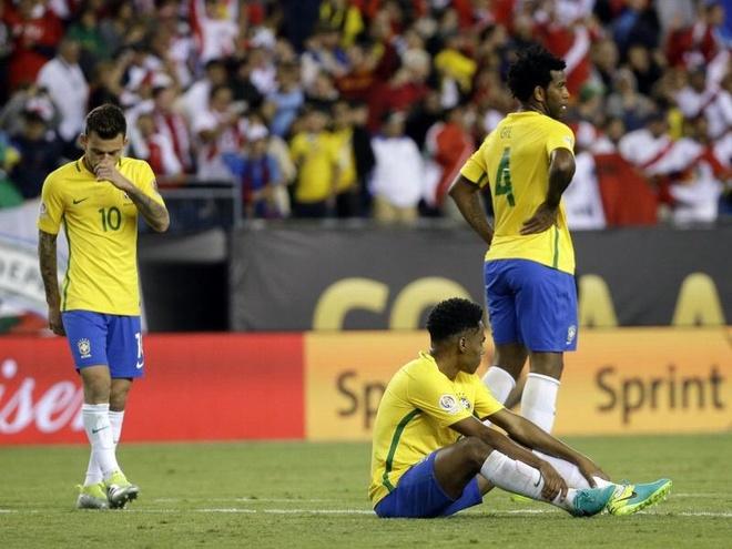 Vi tien, Dunga da pha nat Brazil hinh anh 2