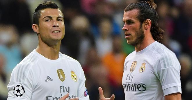 Ronaldo va Bale han dang rat... nho nhau hinh anh