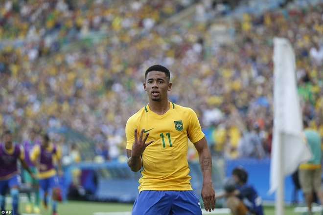 Gabriel Jesus - truyen nhan Ro beo phuc hung Brazil? hinh anh 1