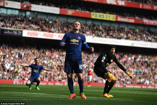 Bay gio,  Rooney giong nhu bac cua Ronaldo anh 2