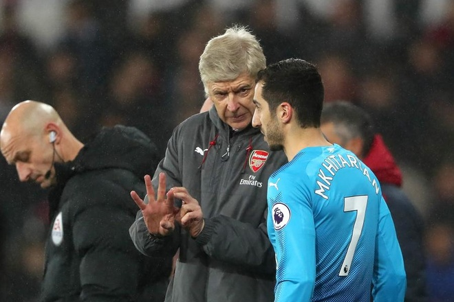 Mkhitaryan co the roi le lan nua o Arsenal hinh anh 3