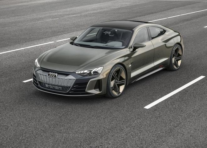 Audi e-tron GT Concept - dep mat, manh me va thong minh hinh anh