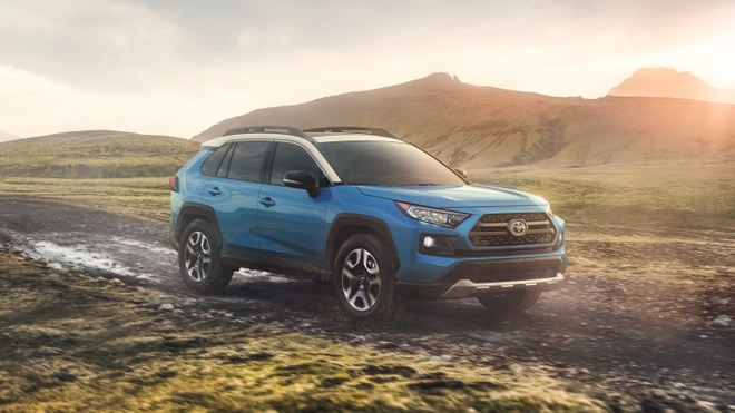Toyota RAV4 2019 ra mat tai My, gia hon 41.000 USD cho ban cao nhat hinh anh